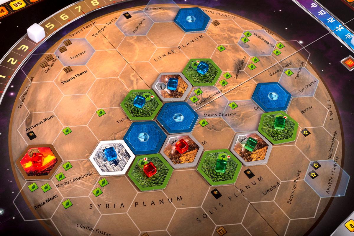 Plansza do gry Terraformacja Marsa