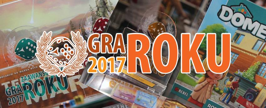 kgr gala Planszowa Gra Roku 2017 oraz wcześniejsze edycje cz.2