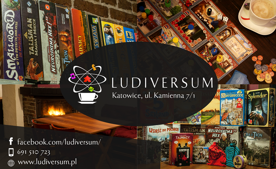 ludiversum l2 Ludiversum   planszówkowa kawiarnia w Katowicach