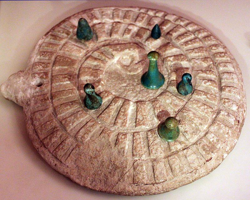 3000 Abydos Spiel der Schlange Mehen anagoria Historia gier planszowych