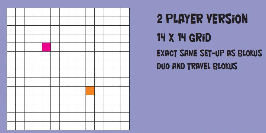 Blokus 2 graczy Blokus & Abalone   zmienne zasady startu gry.