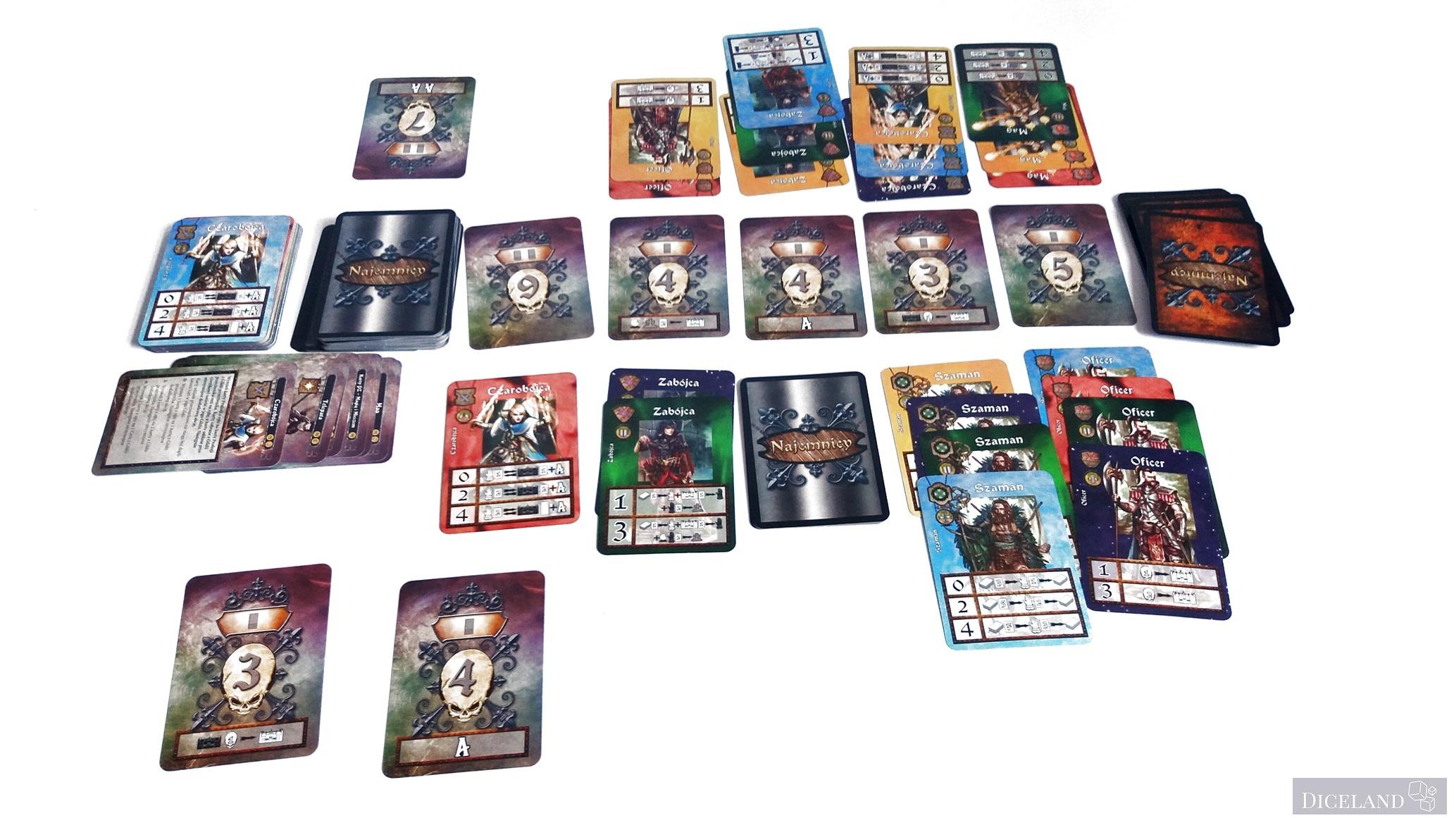 Najemnicy Dodatkowe 1 Recenzja #8 Najemnicy   Trylogia od Lucrum Games