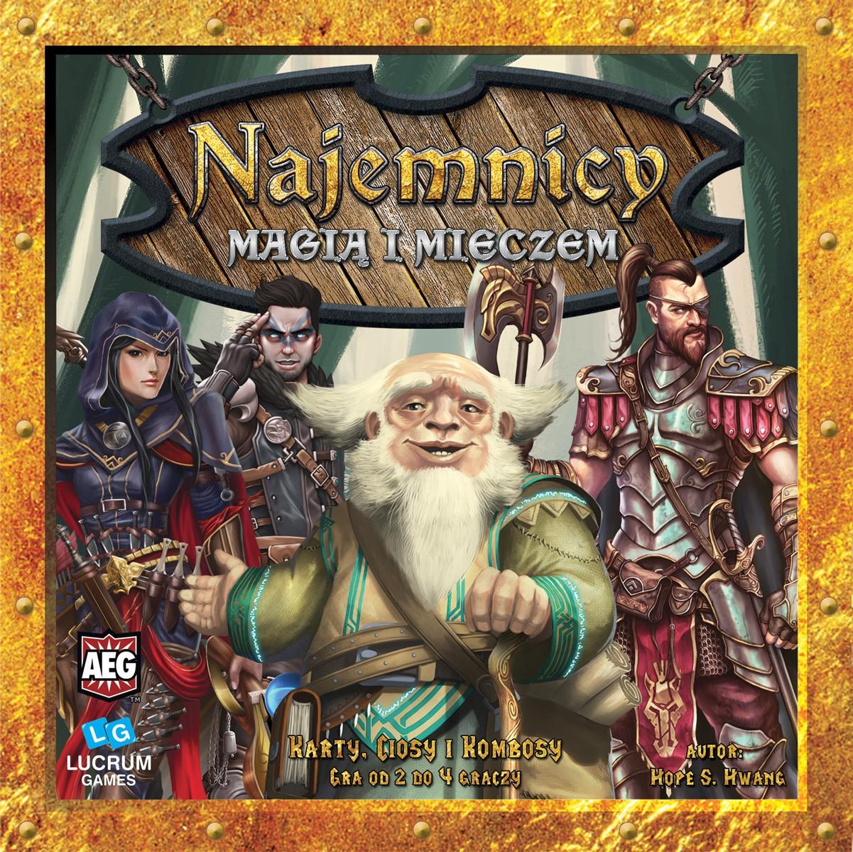 PL MagiA i Mieczem BOX FRONT Recenzja #8 Najemnicy   Trylogia od Lucrum Games
