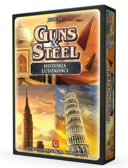 guns steel historia ludzkosci Planszowe nowinki #4