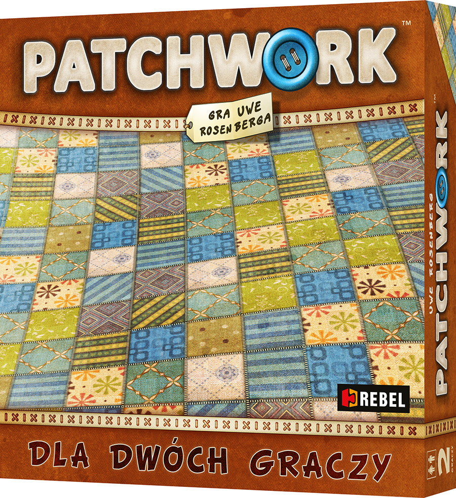patchwork front cover Recenzja #9 Patchwork