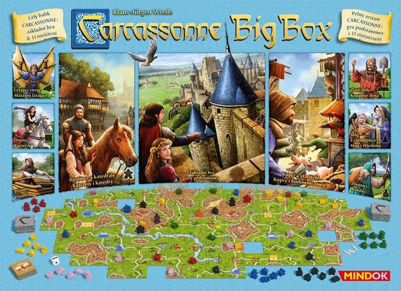 Carcassonne Big Box Planszowe nowinki #14