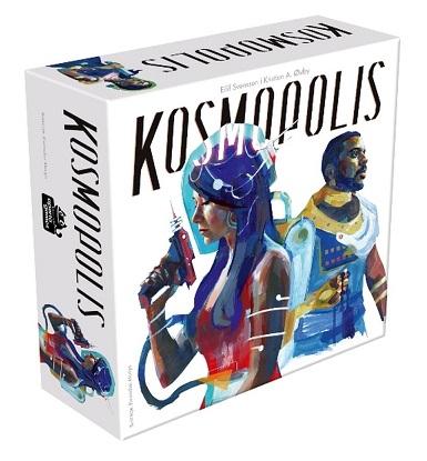 Kosmopolis Zapowiedź #4 czwarta seria recenzji, które już wkrótce pojawią się na Diceland