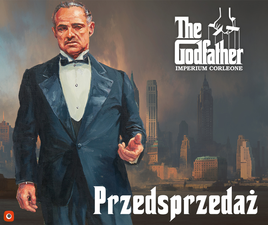 The Godfather Imperium Corleone Planszowe nowinki #12