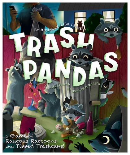Trash Pandas Diceland obserwuje Kickstarter #1