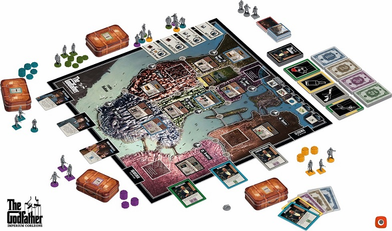 godfather wszystkie elementy Na szybko #2   The Godfather: Imperium Corleone   pierwsze wrażenia