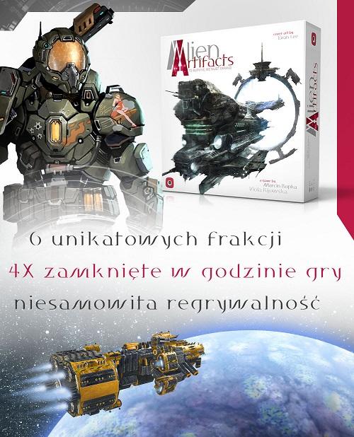 Alien artifacts artefakty obcych Planszowe nowinki #27