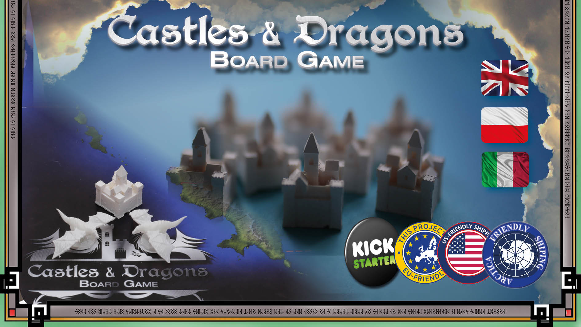 LEAD Castle and Dragons Planszowe nowinki #21