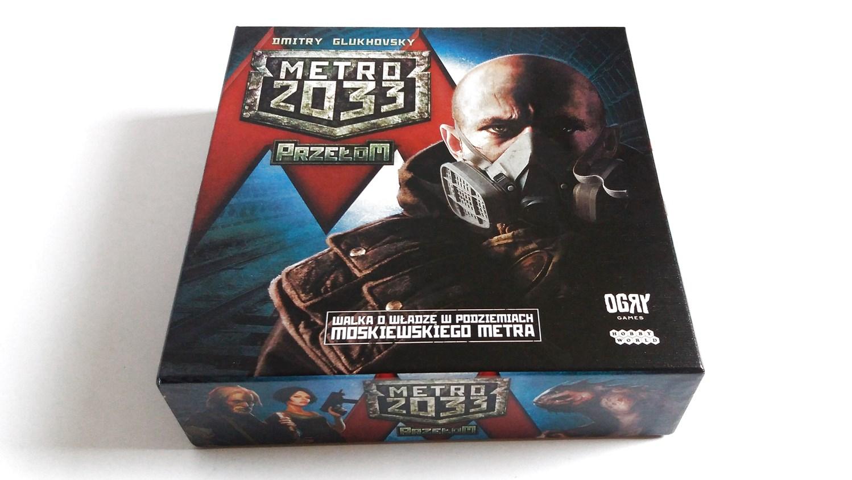 Metro 2033 przełom 1 Unboxing #1 Metro 2033: Przełom