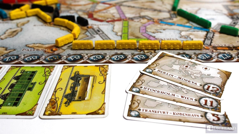 Ticket to Ride Europa 13 Recenzja #27 Wsiąść do Pociągu: Europa