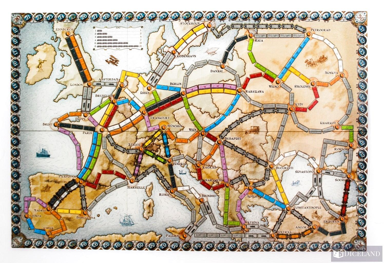 Ticket to Ride Europa 14 Recenzja #27 Wsiąść do Pociągu: Europa