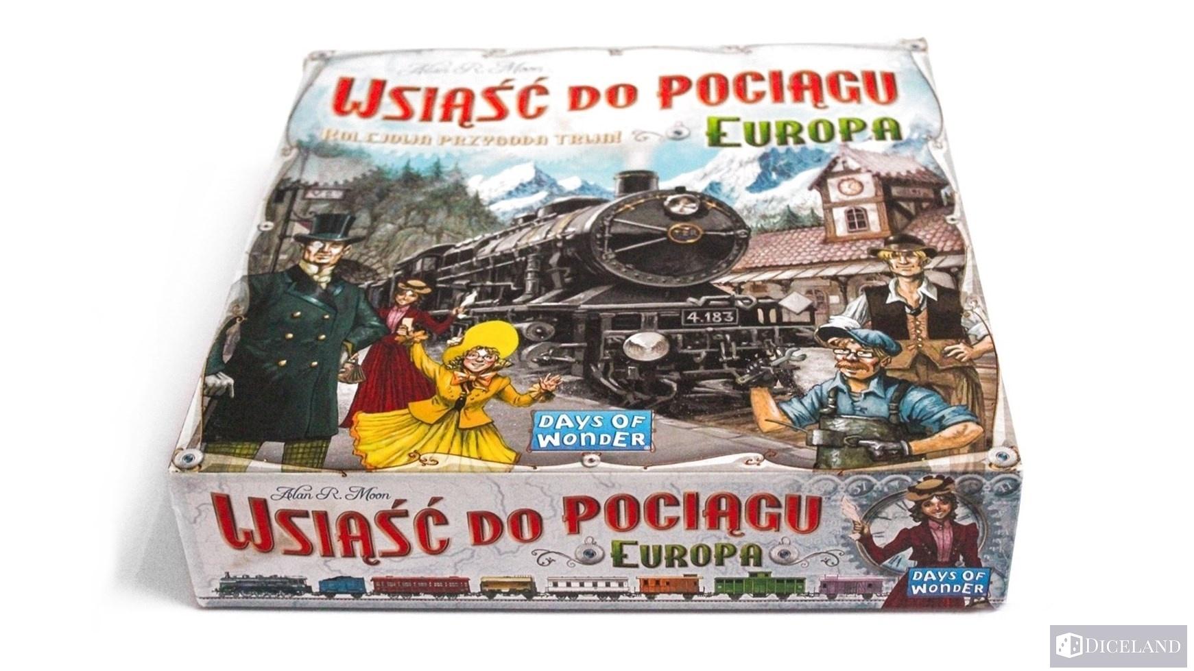 Ticket to Ride Europa 6 Recenzja #27 Wsiąść do Pociągu: Europa