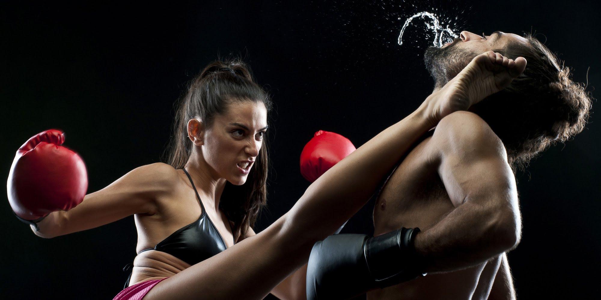 women fight men Top 10 gier, w których dominują kobiety.
