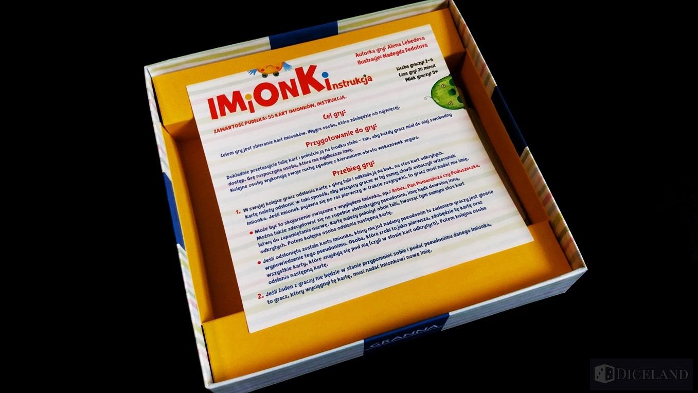 Imionki 2 Recenzja #43 Imionki