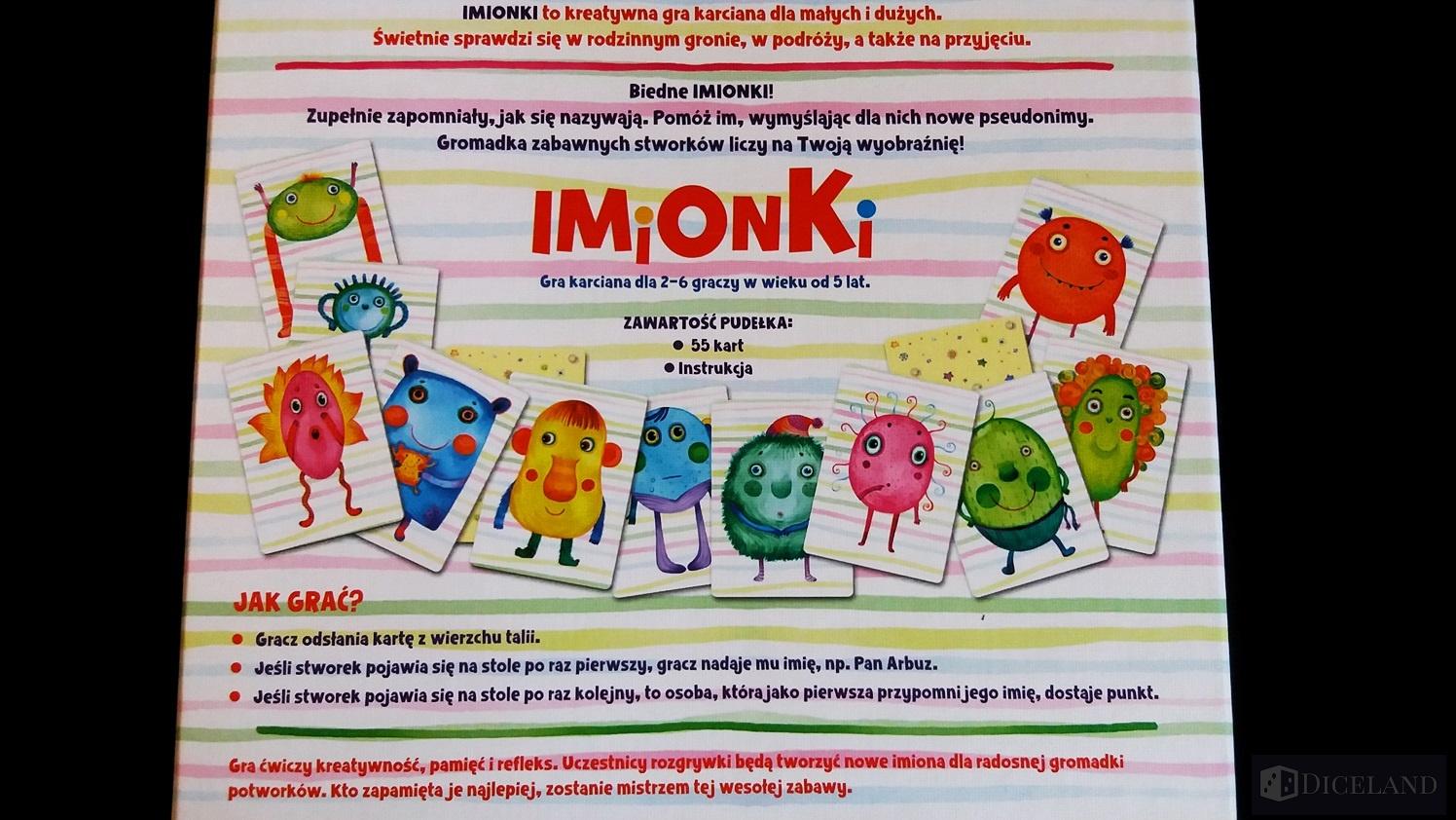 Imionki 4 Unboxing #5 Imionki