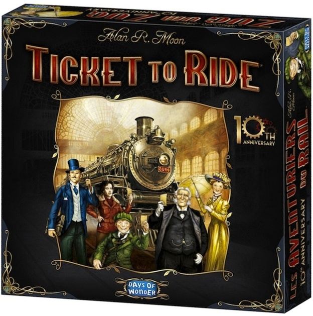 Ticket to Ride 10th Anniversary Recenzja #35 Ticket to Ride 10th Anniversary/Ticket to Ride: USA
