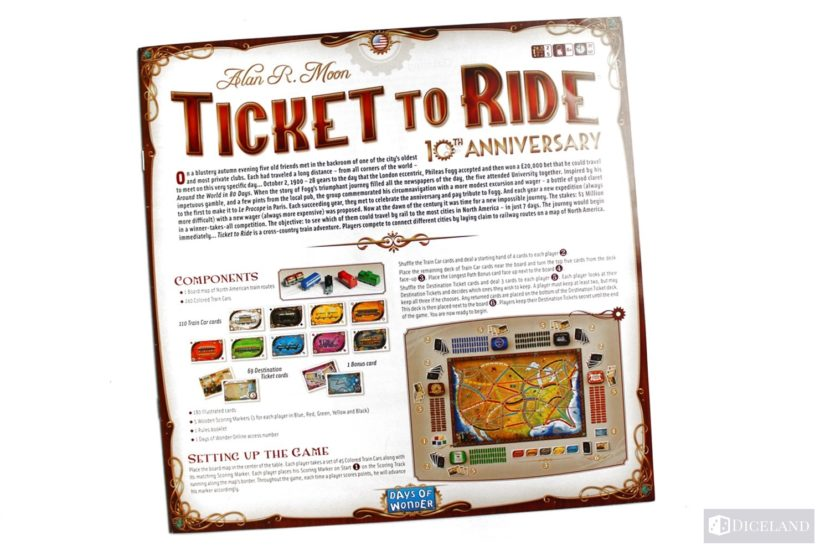 Ticket to Ride 10th Edition (2)