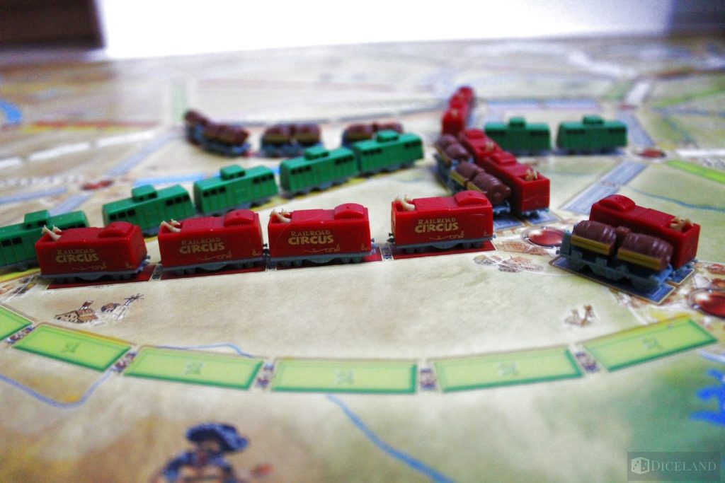 Ticket to Ride 10th Edition 23 1024x683 Recenzja #35 Ticket to Ride 10th Anniversary/Ticket to Ride: USA