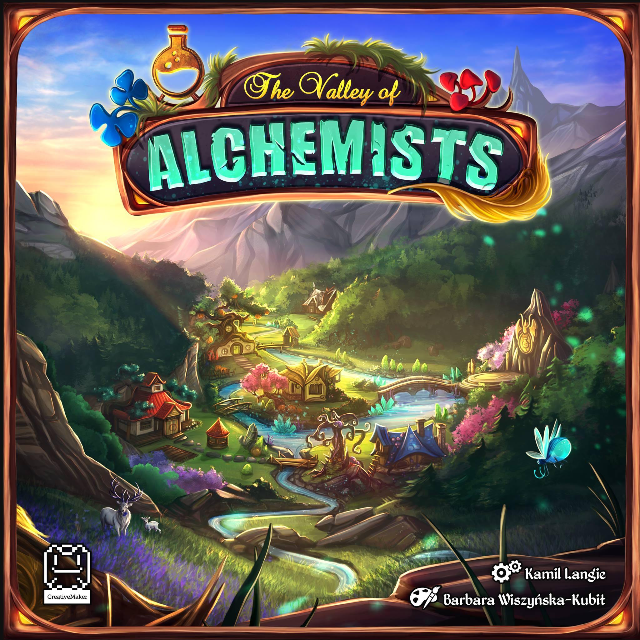 Dolina Alchemików Planszowy Express #40