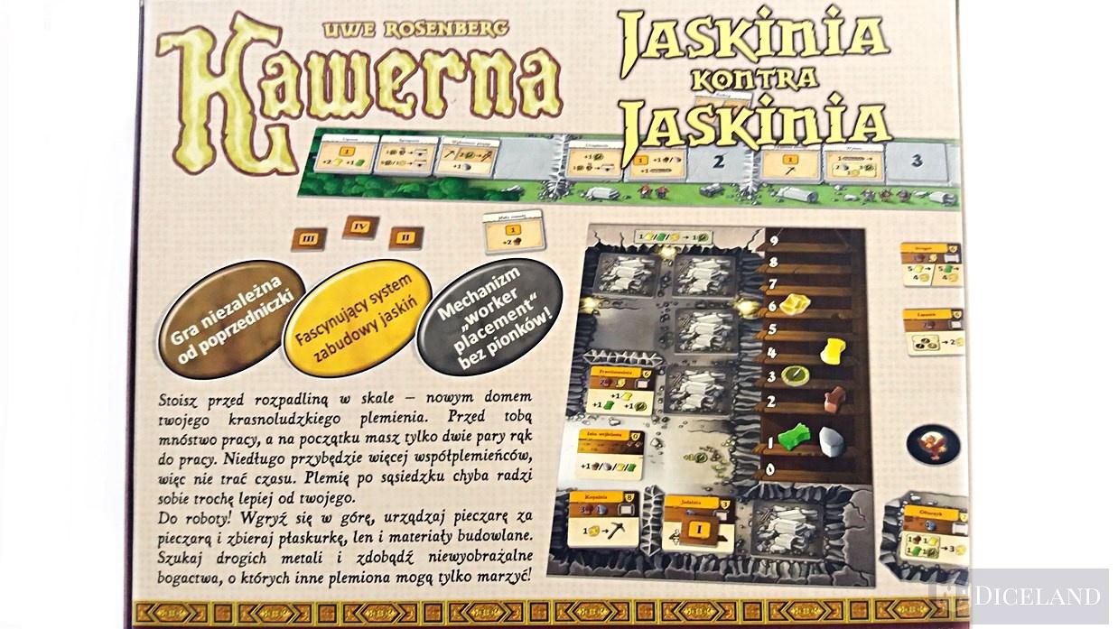 Kawerna Jaskinia kontra Jaskinia 2 Unboxing #8 Kawerna: Jaskinia kontra Jaskinia