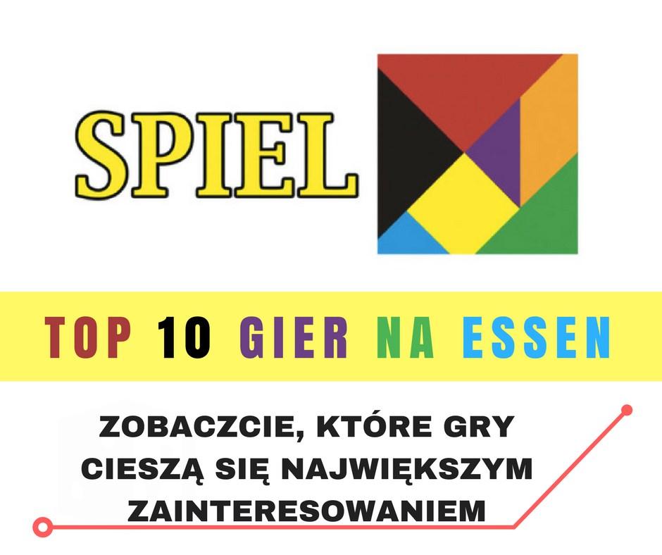 Top 10 gier Essen 17 Top 10 gier na Essen 2017