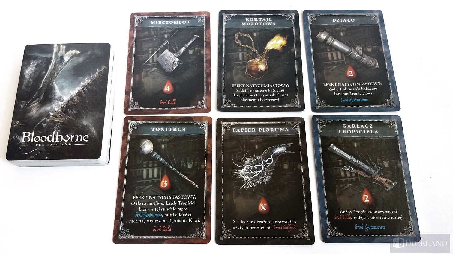 Bloodborne 13 Unboxing #10 Bloodborne: Gra Karciana
