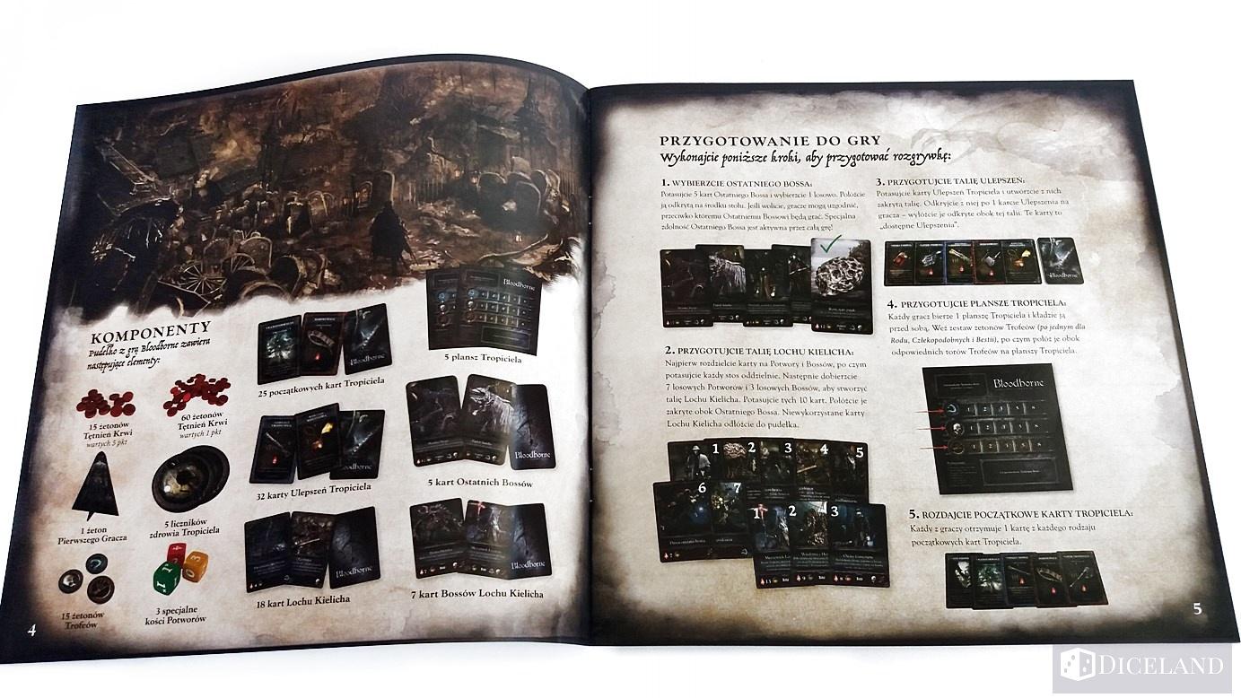 Bloodborne 6 Unboxing #10 Bloodborne: Gra Karciana