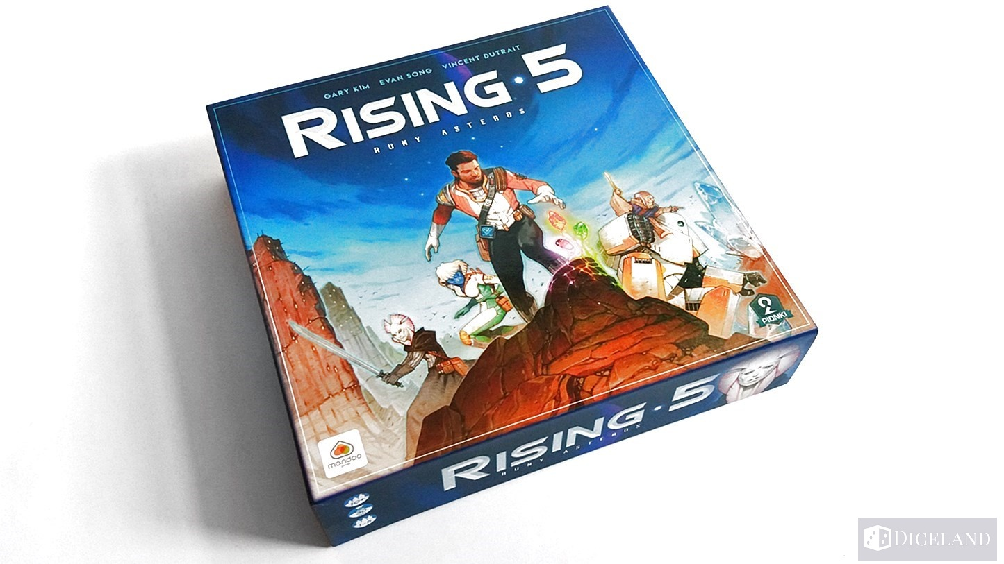 Rising 5 Runy Asteros 1 Unboxing #9 Rising 5: Runy Asteros