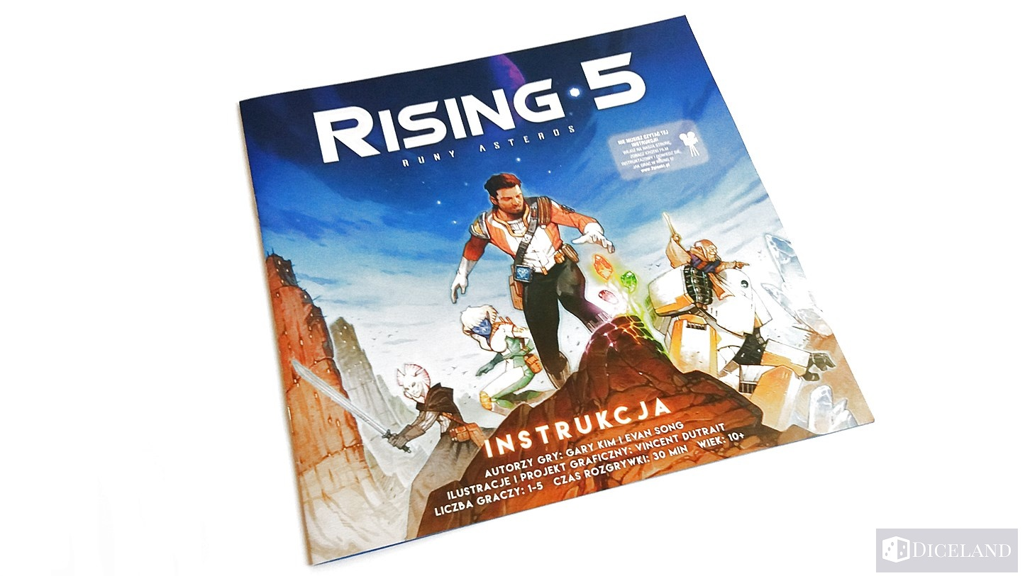 Rising 5 Runy Asteros 6 Unboxing #9 Rising 5: Runy Asteros