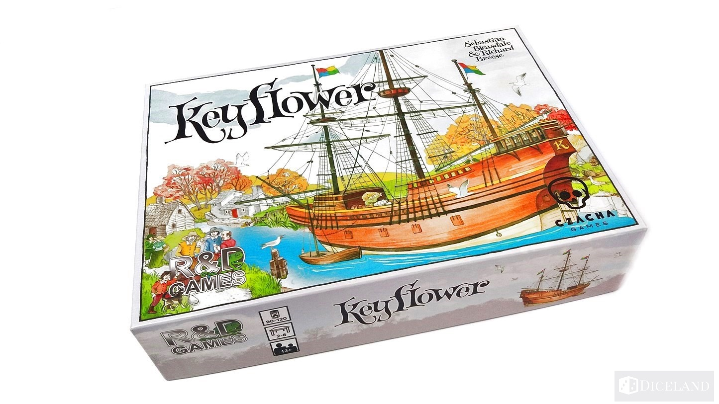 Keyflower 1 Recenzja #88 Keyflower