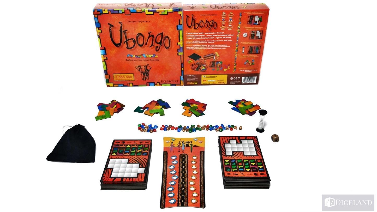 Ubongo 26 Recenzja #71 Ubongo
