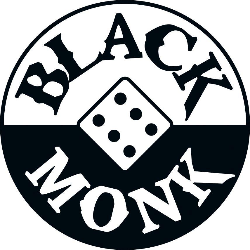 Black Monk logo