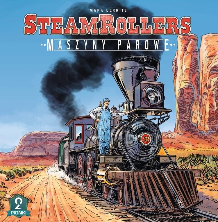 PL steamrollers okladka small Planszowy Express #57   Relacja z Portalconu 2018