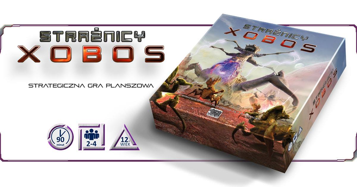 Straznicy Xobos Planszowy Express #59