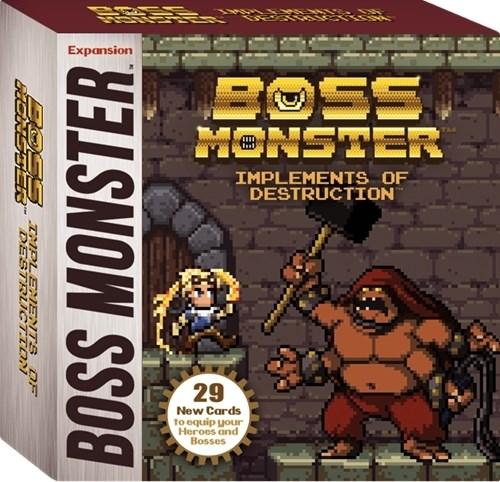 Boss Monster Narzędzia zaglady
