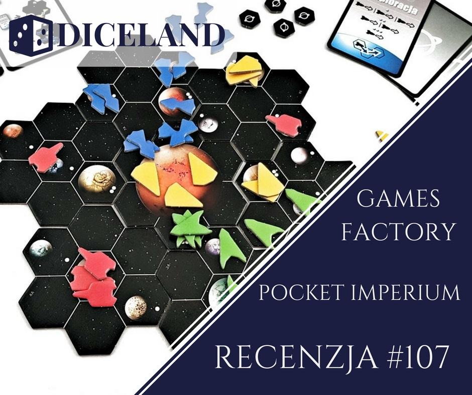 Recenzja 107 Recenzja #107 Pocket Imperium