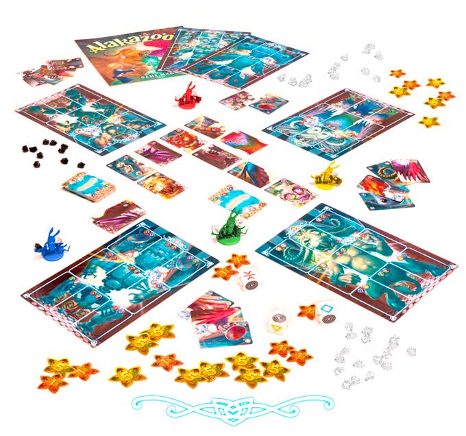 Alkazoo board game Kickstarter