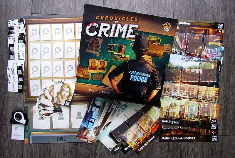 Kroniki Zbrodni zap 3 Planszowy Express #69