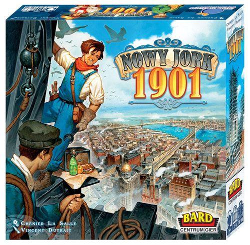 Nowy Jork 1901 1 Top 25 gier planszowych   Edycja 2018   miejsca od 25 do 11