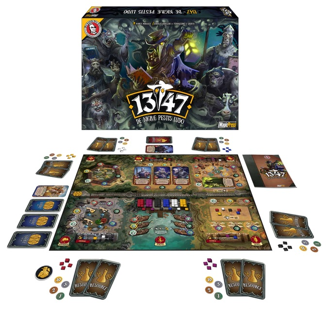 1347 Diceland obserwuje Kickstarter #43