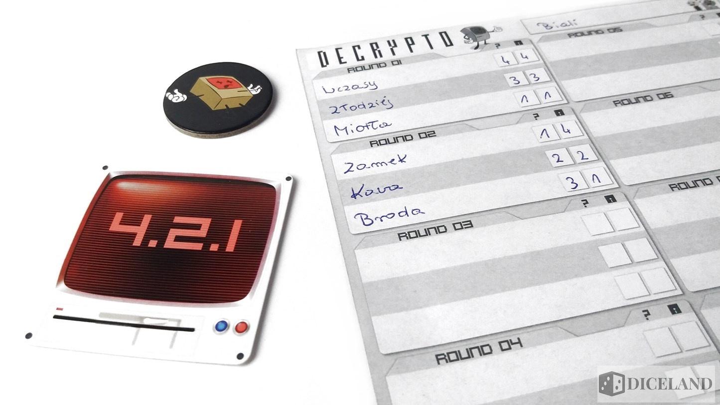 Decrypto 18 Recenzja #133 Decrypto