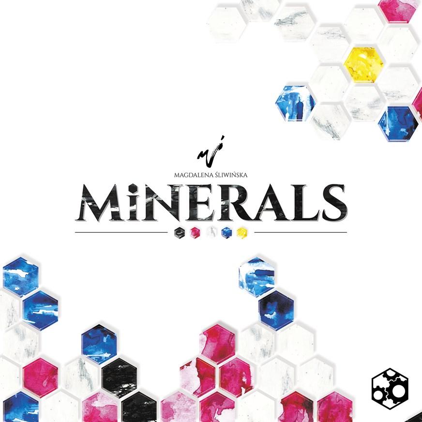 Minerals okładka RGB Planszowy Express #72