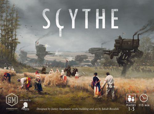 Scythe Top 10 gier planszowych Marzeny   Edycja 2018