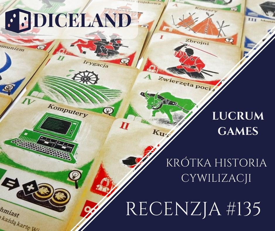 Recenzja 135 Recenzja #135 Krótka Historia Cywilizacji