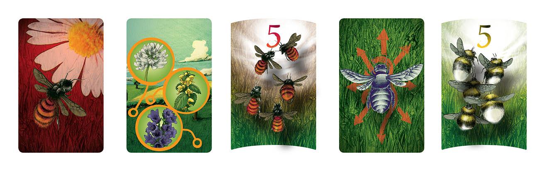 pszczółki karty Planszowy Express #79