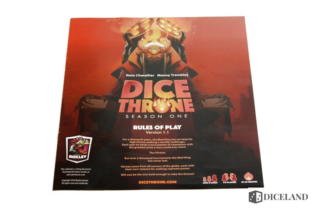 Dice Throne 2 1024x683 Recenzja #150 Dice Throne Season One